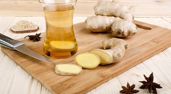 Миниатюра к статье Как приготовить имбирный чай от простуды, простые рецепты
