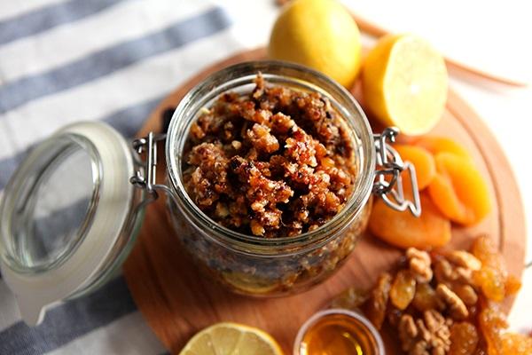 Миниатюра к статье Витаминная смесь для укрепления иммунитета: полезно и вкусно