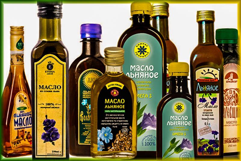 Миниатюра к статье Льняное масло: польза для организма и какое выбрать