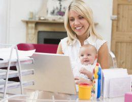 Миниатюра к статье Как заработать деньги в декрете, сидя дома?