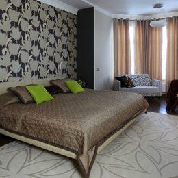 Миниатюра к статье Выбор цвета обоев для спальни: уют, комфорт и спокойствие