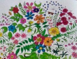 Миниатюра к статье Раскраски-антистресс Джоанны Басфорд – настоящая арт-терапия для взрослых!